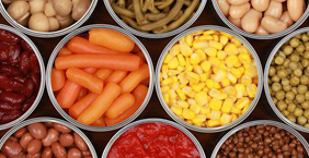 Canned / Frozen Fruits and Vegetables