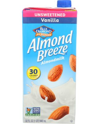 Vanilla Unsweetened Almond Breeze