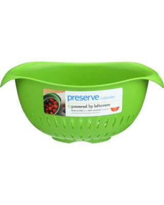 Colander Green Recycled