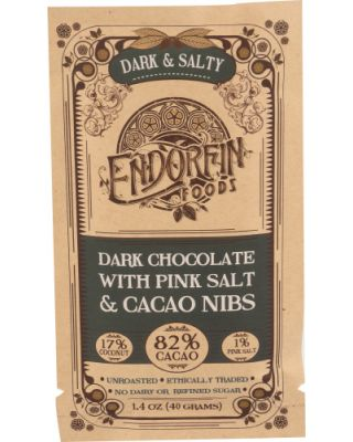 Dark & Salty Chocolate Bar