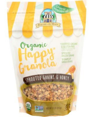 Sprouted Grains & Honey Granola