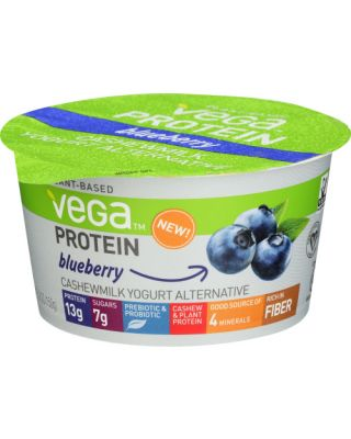 Blueberry Protein Cashewmilk Yogurt
