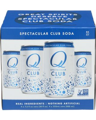 Club Soda Cans 4 Pack