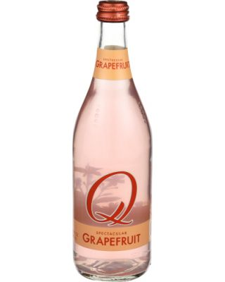 Grapefruit Soda Bottle