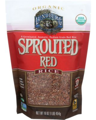 Sprouted Red Rice