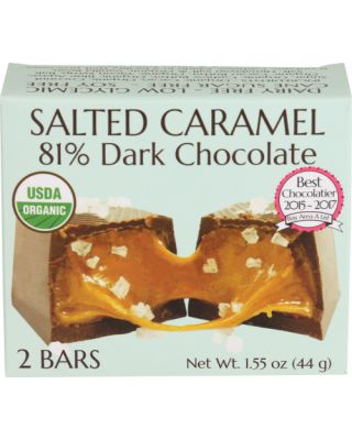 Salted Caramel Filled Bar