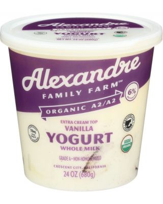 Vanilla A2 Yogurt