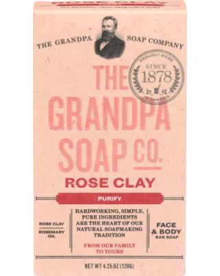 Purify Rose Clay Soap