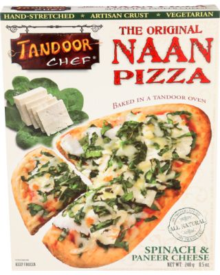 Spinach Paneer Pizza
