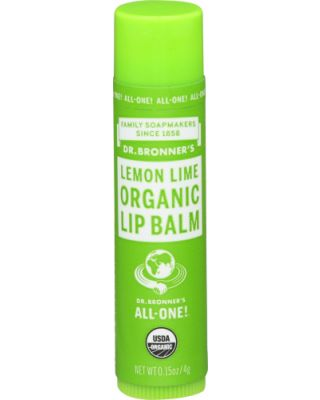Organic Lip Balm Lemon Lime