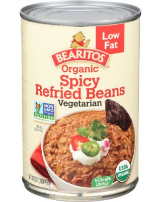 Low Fat Spicy Refried Beans