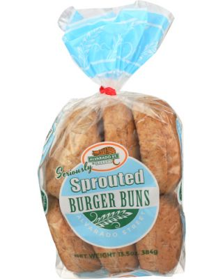 Wheat Sprouted Burger Buns