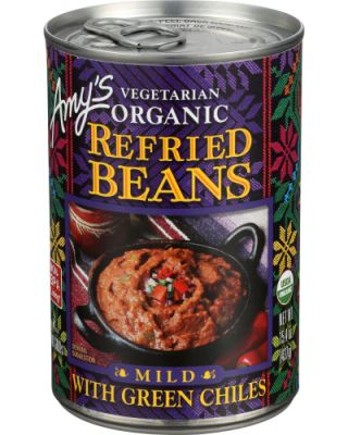 Green Chili Refried Beans