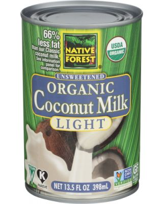 Light Coconut Milk Organic
