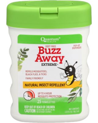 Buzz Away Extreme Pop-Up Towelette