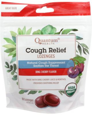 Cough Relief Lozenges Cherry