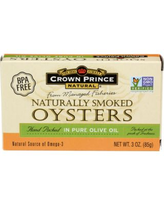 Smoked Oysters Olive Oil