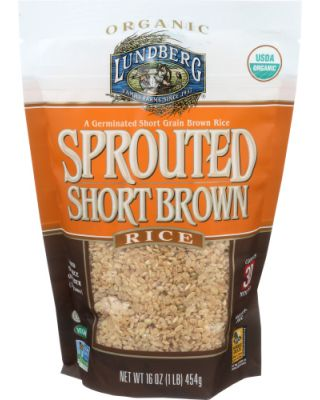 Sprouted Short Brown Rice