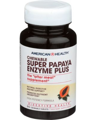 Super Papaya Enzyme Plus Chewable