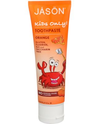 Kids Only Toothpaste Orange