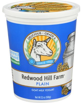 Plain Goat Milk Yogurt