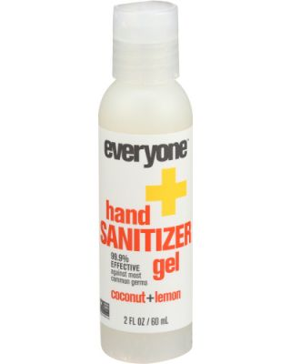 Hand Sanitizer Gel Coconut Lemon