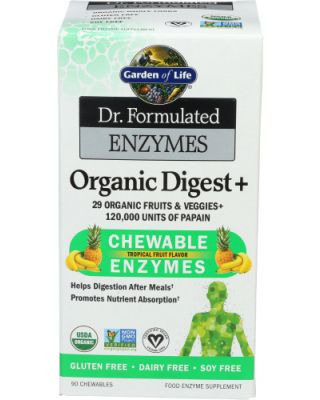 Organic Digest + Chewable