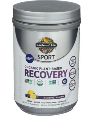 Sport Org Recovery Black Lemonade
