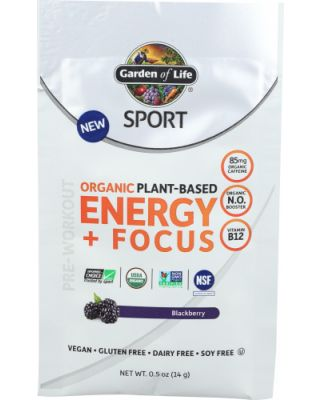 Sport Energy + Focus Blackberry