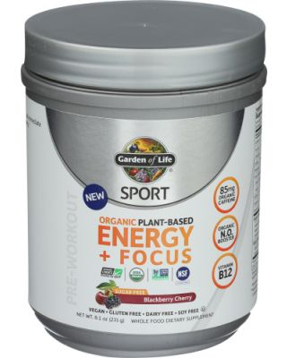 Sport Org Energy Focus Black Cherry