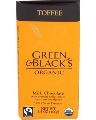Green And Black Toffee