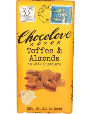 Milk With Almonds & Toffee