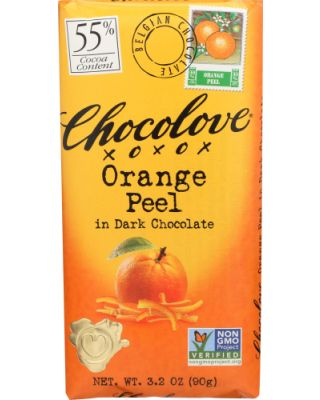 Dark With Orange Peel
