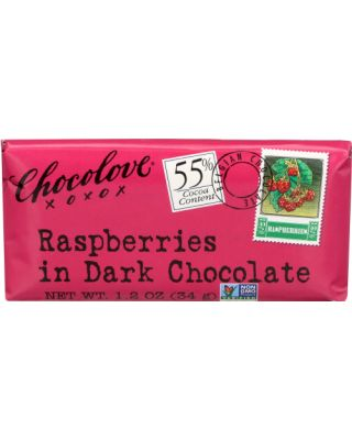 Dark With Raspberries