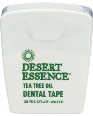 Tea Tree Oil Waxed Dental Floss Tape