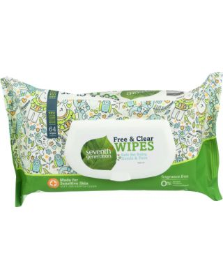 Baby Wipes Free & Clear