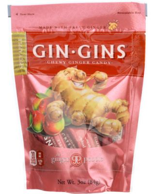 Gin Gins Chews Spicy Apple  Bag