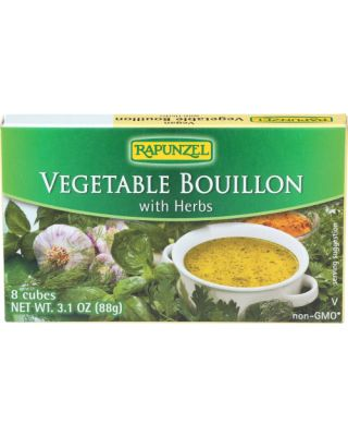Vegetable Bouillon With Herb