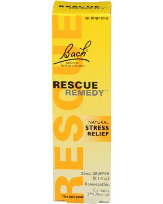 Rescue Remedy Flower Essence