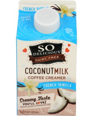French Vanilla Coconut Milk Creamer