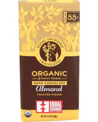 Almonds Dark Chocolate Bar