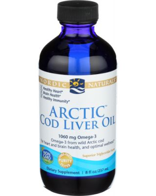 Unflavored Arctic Cod Liver Oil