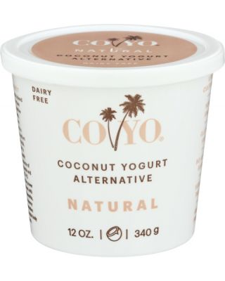 Plain Coconut Milk Yogurt