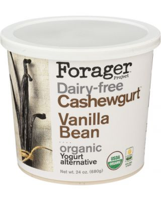 Vanilla Bean Cashew Yogurt