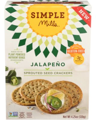 Jalapeno Sprouted Cracker