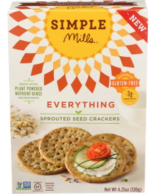 Everything Sprouted Cracker