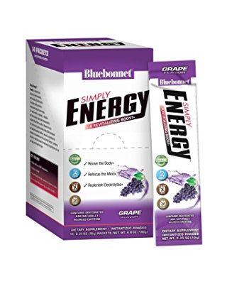 Simply Energy Grape Flavor